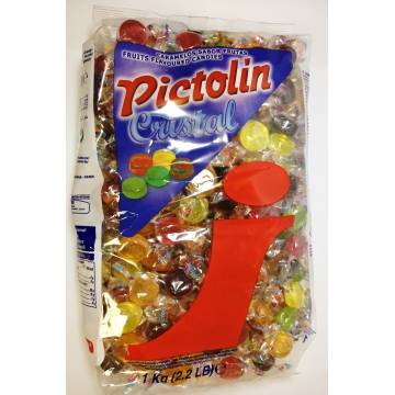 "SÜßIGKEITEN ""PICTOLIN CRISTAL"" (1 kg)"
