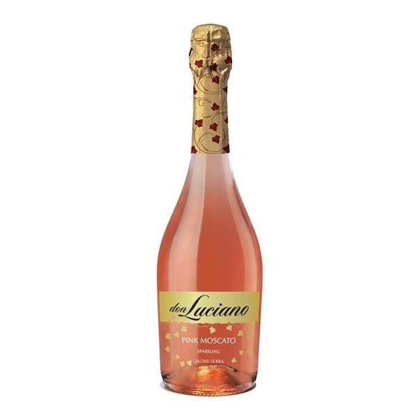 DON LUCIANO vino rosado espumoso Moscato (75 cl)