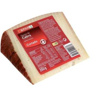 SLICED SEMI-CURED GOAT CHEESE 250G SPAR