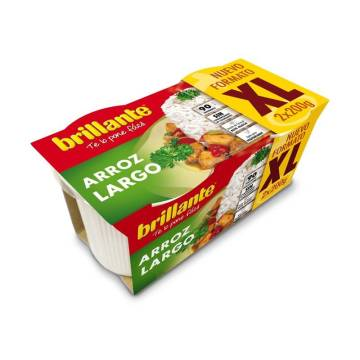 "ARROZ COCIDO LARGO XL PACK 2 ""BRILLANTE"""