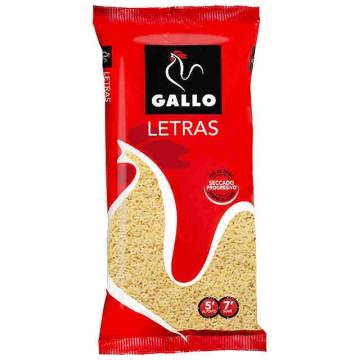 "LETRAS 250G ""GALLO"""