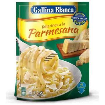 "TALLARINES A LA PARMESANA ""GALLINA BLANCA"""