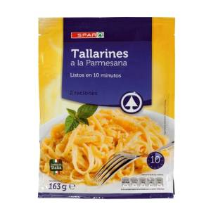 Tallarines a la parmesana Spar 163g.