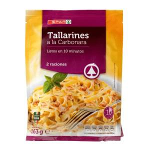 Tallarines a la Carbonara Spar 163g.