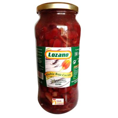 BOILED RED BEANS LOZANO