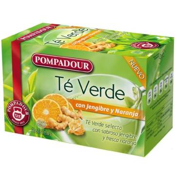"GREEN TEA WITH GINGER AND ORANGE ""POMPADOUR"""
