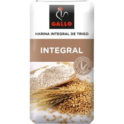 "HARINA DE TRIGO INTEGRAL ""GALLO"""