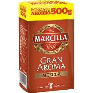 GROUND MIXED COFFEE GRAN AROMA 500G MARCILLA