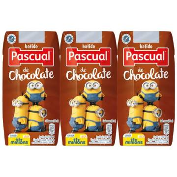 "CHOCOLATE MILK SHAKE 3X200ML ""PASCUAL"""