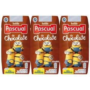 "BATIDO DE CHOCOLATE 3X200ML ""PASCUAL"""