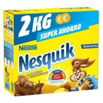 NESQUIK CHOCOLATE POWDER PACKAGE 2KG NESTLÉ