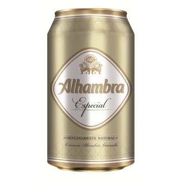 "CERVEZA ESPECIAL ""ALHAMBRA"" 1 UND."