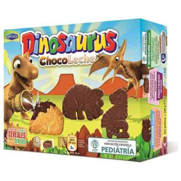 "BISCUITS DINOSAURS CHOCO LECHE ""ARTIACH"" (340 G)"