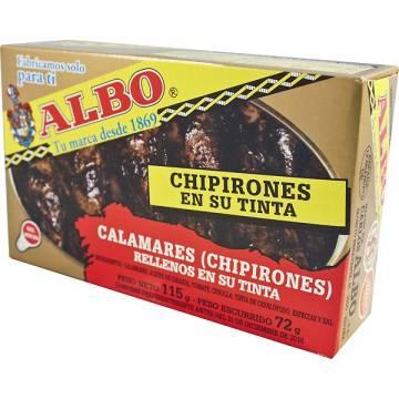 """CHIPIRONES EN SU TINTA """"ALBO"""""""