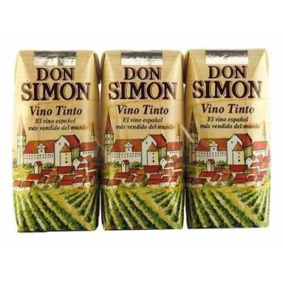 VINO TINTO  MINI BRIK DON SIMON
