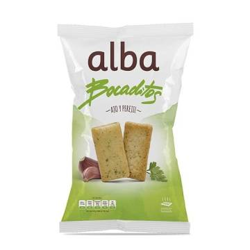 TOASTED BREAD WITH GARLIC AND PARSLEY 110G ALBA