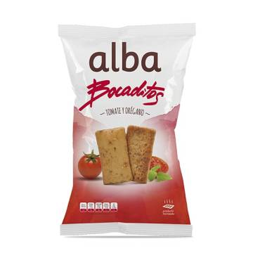 TOASTED BREAD WITH TOMATO AND OREGANO 110G ALBA