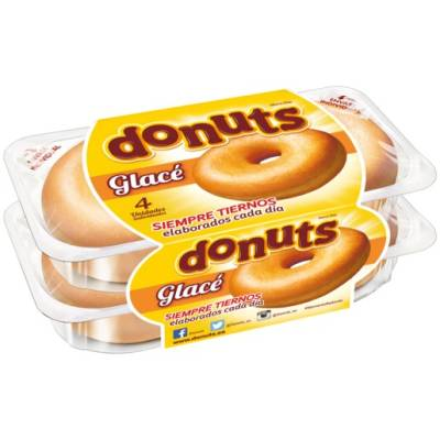 "DONUTS GLACÉ PACKX4 ""DONUTS"""