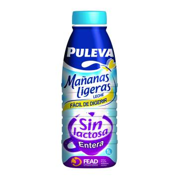 "WHOLE MILK WITHOUT LACTOSE -MAÑANAS LIGERAS- ""PULEVA"""