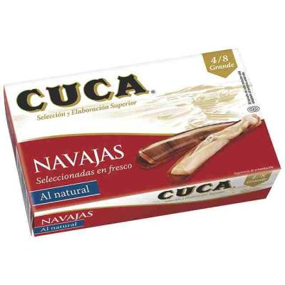 "NAVAJA AL NATURAL 4/8 ""CUCA"""