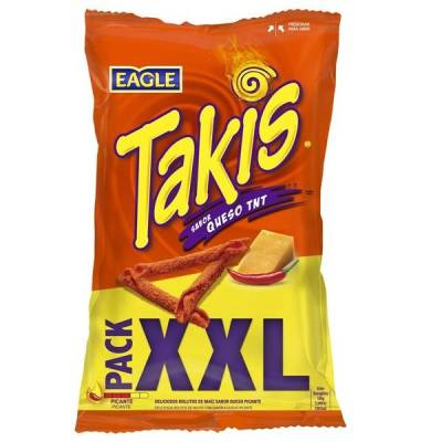 "SNACKS SABOR QUESO TNT ""TAKIS"""