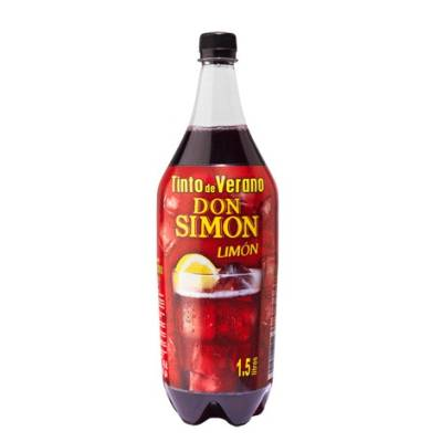 SUMMER RED WINE WITH LEMON DON SIMÓN 1,5 L