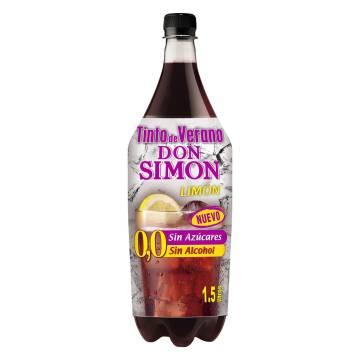 TINTO DE VERANO LIMÓN SIN ALCOHOL DON SIMÓN  1,5 L