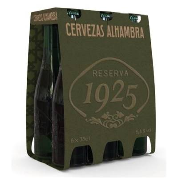 "BIER RESERVA 1925 PACK 6 ""ALHAMBRA"""
