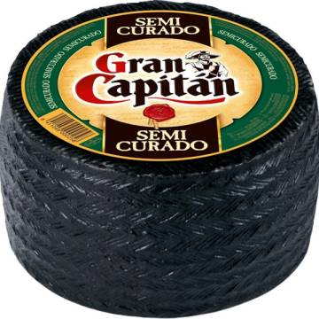 WHOLE SEMI-CURED CHEESE APPROX. 3KG GRAN CAPITÁN