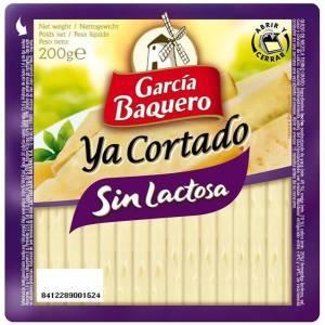 Geschnittener Käse ohne Lactose GARCIA BAQUERO 200g.