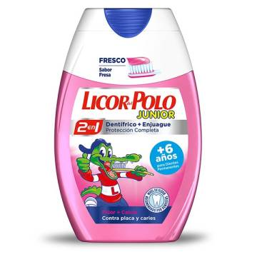 "JUNIOR TOOTHPASTE ""LICOR DEL POLO"""