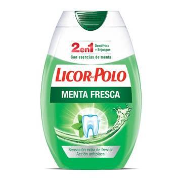"""DENTÍFRICO MENTA FRESCA """"LICOR DEL POLO"""""""