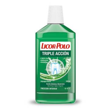 "MOUTHWASH  TRIPLE ACTION ""LICOR DEL POLO"""