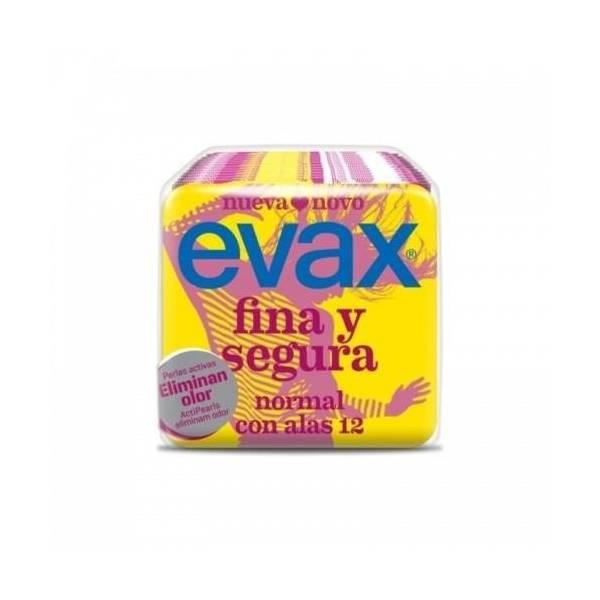 """COMPRESAS FINA Y SEGURA CON ALAS """"EVAX"""""""