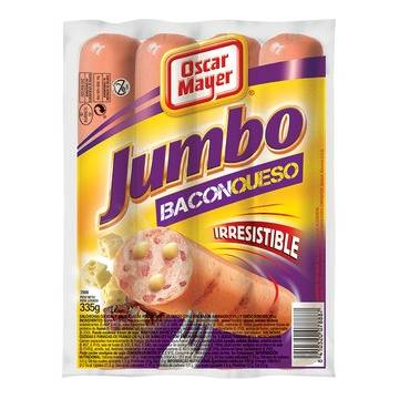 "JUMBO BACON & CHEESE SAUSAGES ""OSCAR MAYER"""
