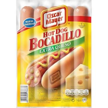 "SALCHICHAS HOT DOG EXTRA QUESO ""OSCAR MAYER"""