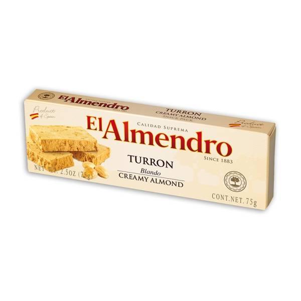 WEICHER MANDEL NOUGAT 75G EL ALMENDRO