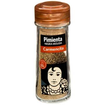 "BLACK PEPPER POWDER 52 G ""CARMENCITA"""