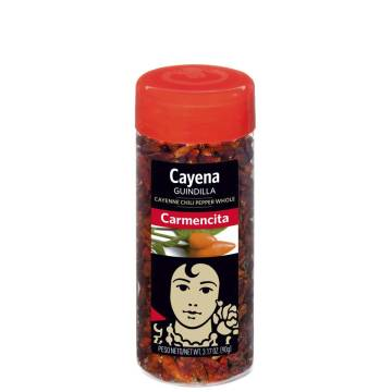 WHOLE CAYENNE PEPPER 90G CARMENCITA