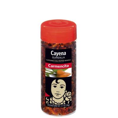 WHOLE DRIED CAYENNE 90G CARMENCITA