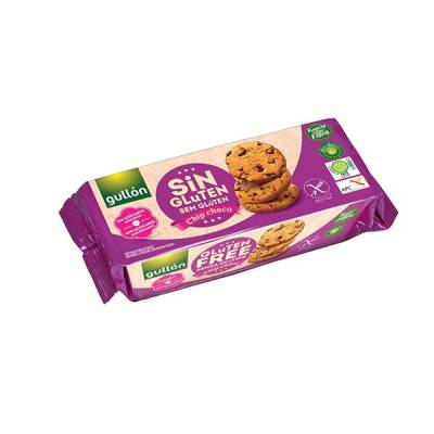 "CHOCO CHIPS COOKIES WITHOUT GLUTEN - SUGAR FREE ""GULLÓN"""