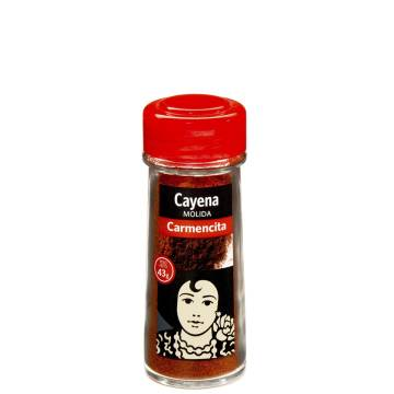 CAYENNE PEPPER POWDER 43G CARMENCITA