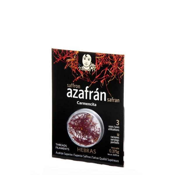 AZAFRAN DE HEBRA EXTRA 0,375G CARMENCITA