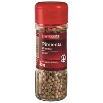 "WHITE PEPPER 45 G ""SPAR"""