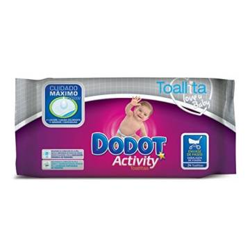 "BABY WIPES DODOT ACTIVITY 24 UNITS ""DODOT"""