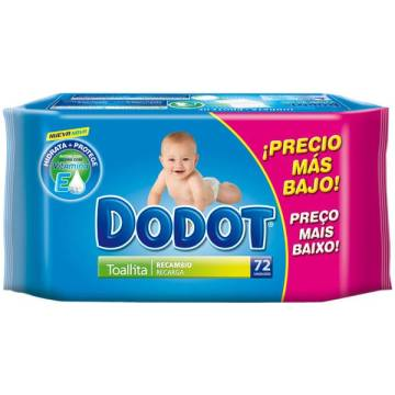 "BABY WIPES DODOT 72 UNITS ""DODOT"""