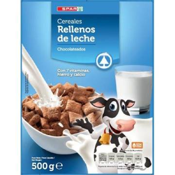 "CHOCOLATE CEREALS FILLED WITH MILK ""SPAR"""