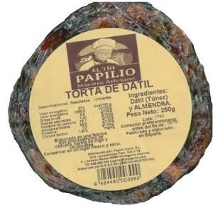 TORTA DE DATIL 250G EL TIO PAPILIO