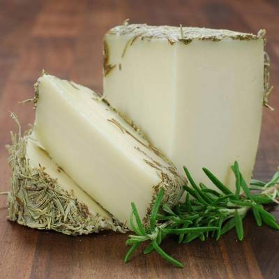 "GOAT CHEESE WITH ROSEMARY 1KG ""ERMITA CRUZ"""