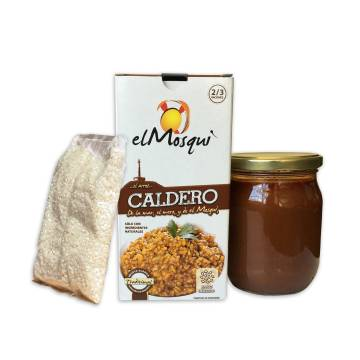 "BROTH FOR CALDERO RICE ""EL MOSQUI"""